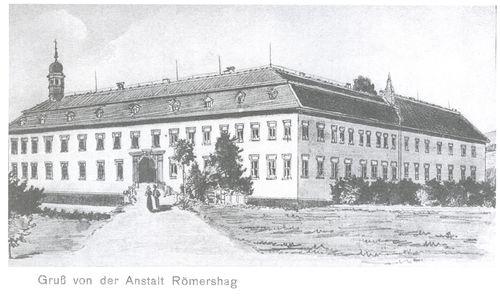 Bild:Zeichnung um 1900 Nord-West Ansicht