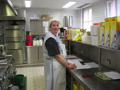 Küche im Pflegeheim Römershag