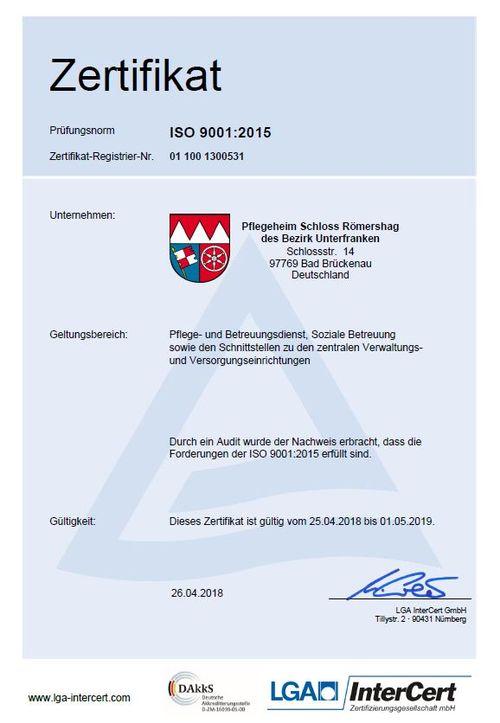 LGA-Zertifikat 2018