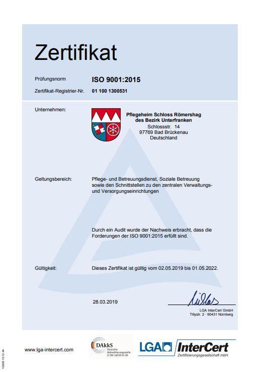 LGA-Zertifikat 2019